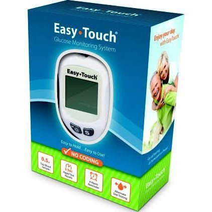 Easy Touch Meter Free W/Purchase of 300 Test Strips