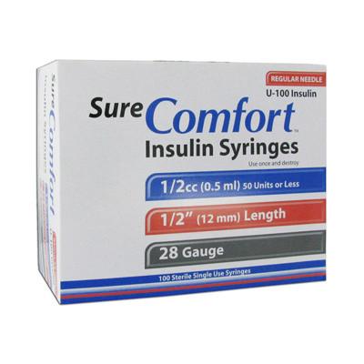 1/2cc 28g Syringe