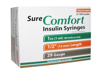 1cc 29G Syringe (22-9010)