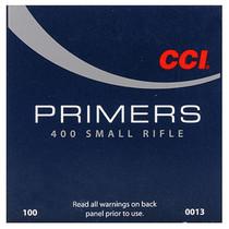 CCI 400 STD SMALL RIFLE PRIMER 100 CT