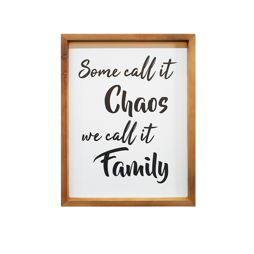 Chaotic Family Sign