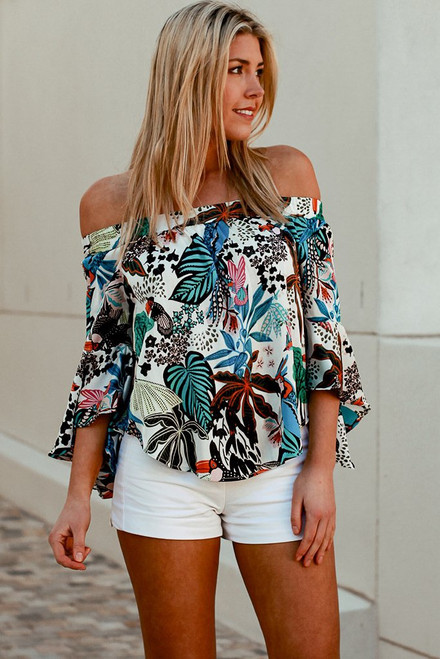 Colourful Leaf Top