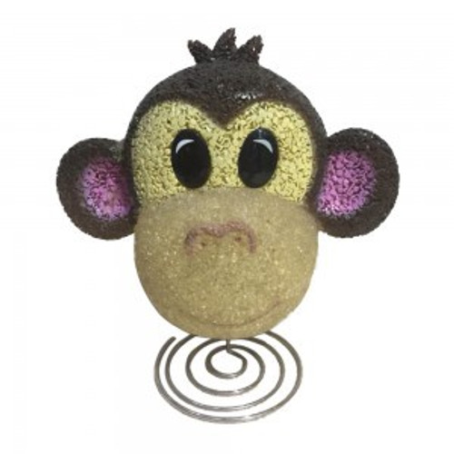 EVA Monkey face lamp