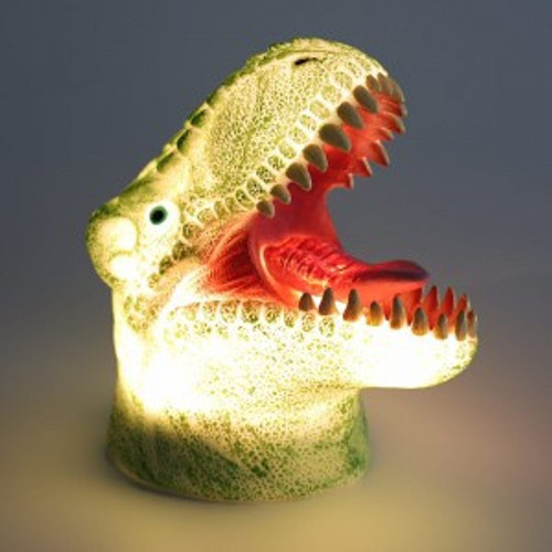 LED Colour changing Dinosaur lamp