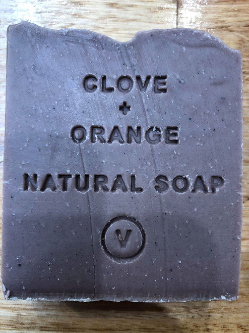 Clove and Orange Natural Soap