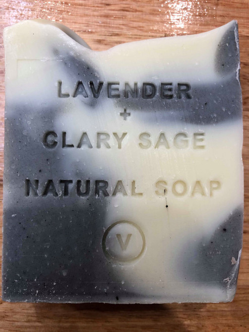 Lavender and Clary Sage Natural Soap