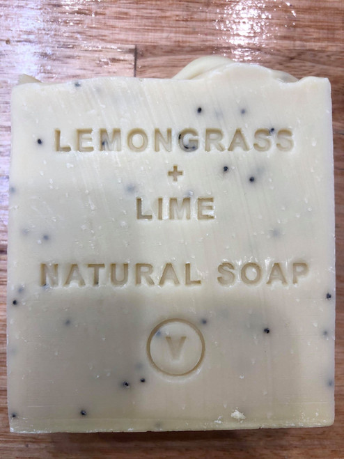 Lemongrass and Lime Natural Soap