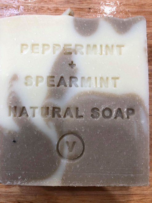 Peppermint and Spearmint Natural Soap