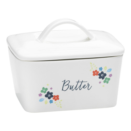 Ditsy Floral Butter Dish