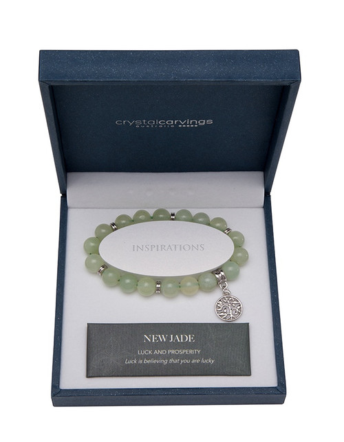 New Jade Tree of Life Bracelet