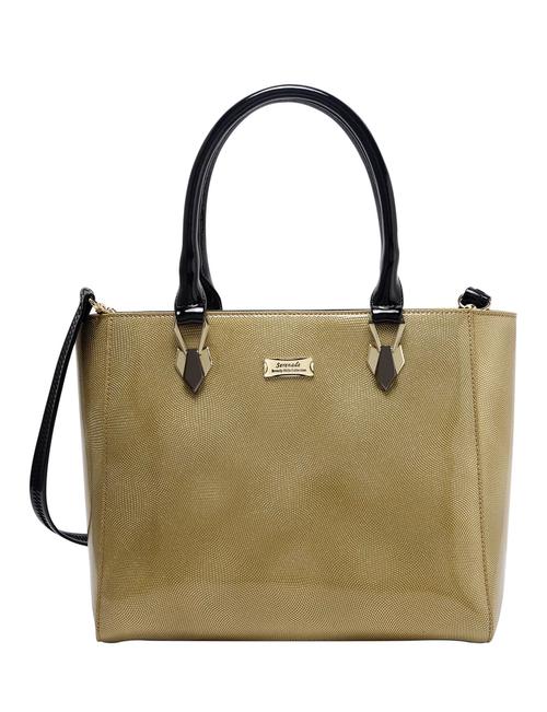 Stardust Patent Leather Handbag