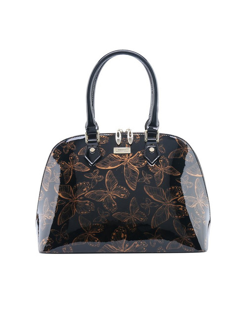Butterfly Leather Bag Coffee