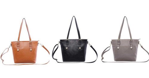Charlie Soft Leather Tote