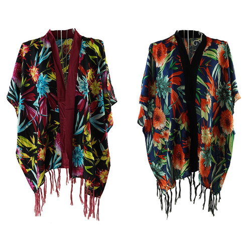 Floral Forest Wrap