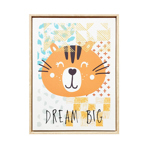 Dream Big Framed Canvas