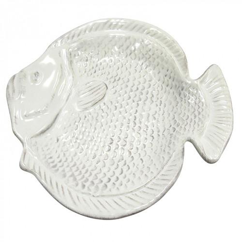 Ceramic Fish Plate 25x26cm