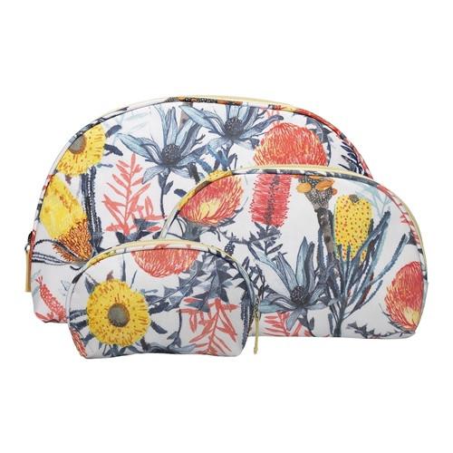 Florae Cosmetic Bag Set