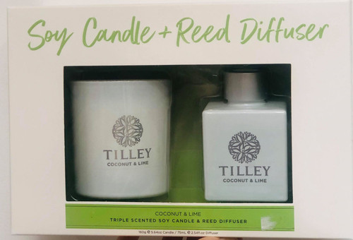 Coco&Lime Candle and Reed Giftpack