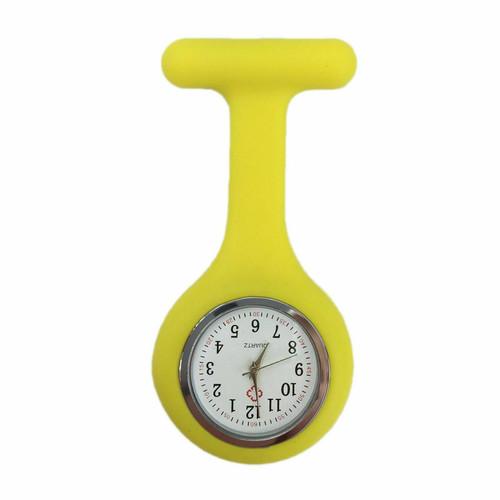 Plain Nurse Watch / Yellow