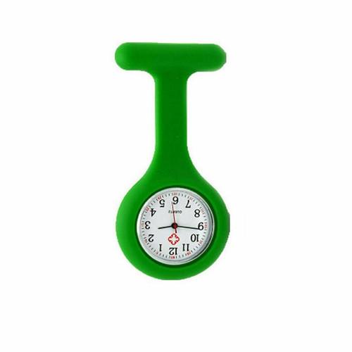 Plain Nurse Watch / Green
