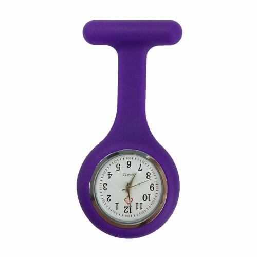 Plain Nurse Watch / Purple