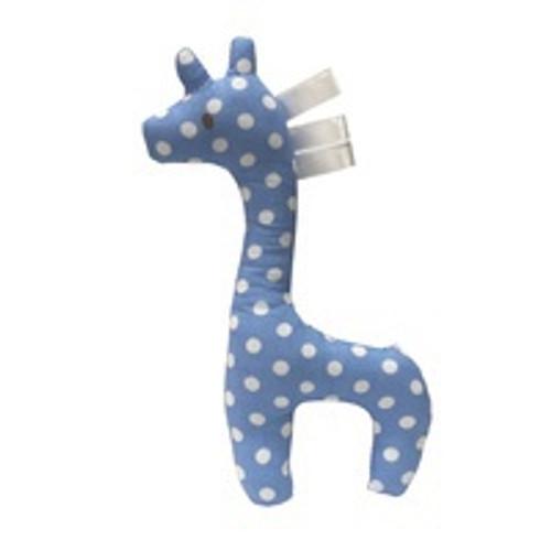 Blue Gerry Giraffe Rattle