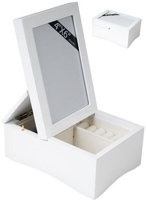 Jewellery Box with Photo Frame