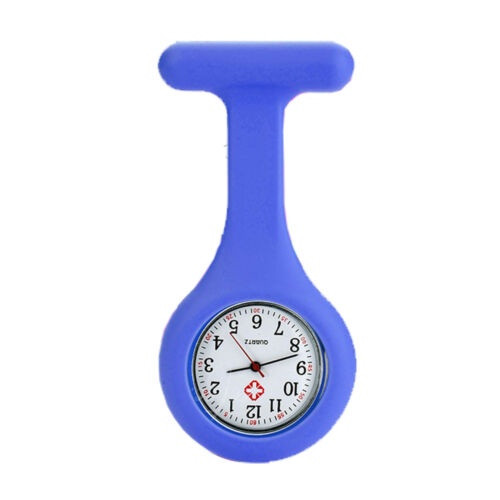 Plain Nurse Watch / Light Blue