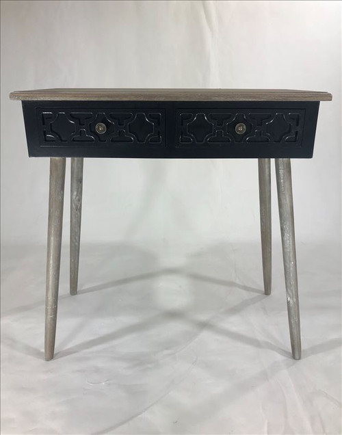 Black and Natural Console