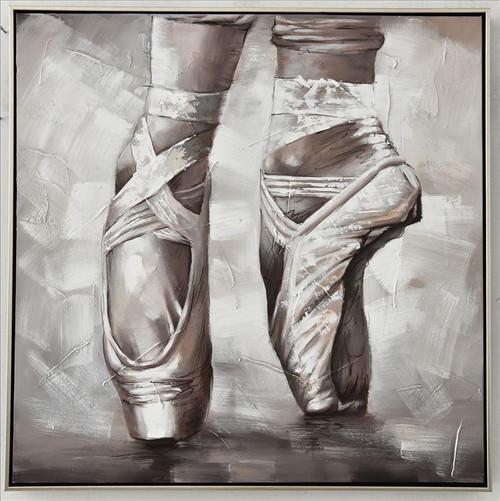 Ballerinas Balance Canvas 80x80cm