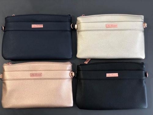 Demi Vegan Leather XBody Bag