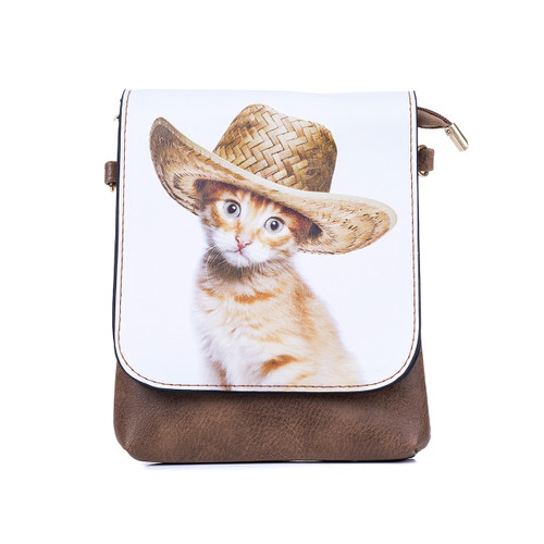 Cowboy Cat Flap Bag