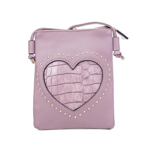 Heart Scales Crossbody Bag