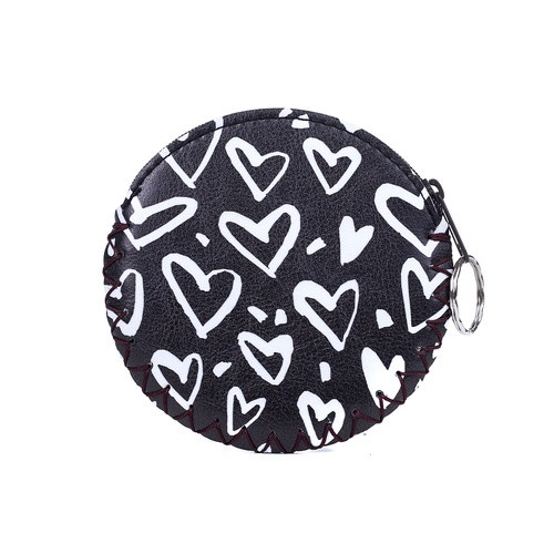 Black Hearts Coin Purse