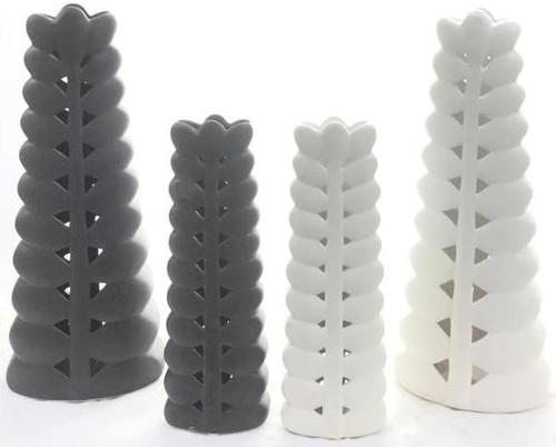 Demi Vase White