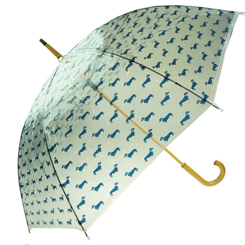 Umbrella - Navy Dachshunds