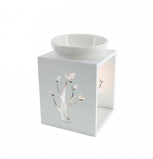 White Tree Ceramic Oil Burner