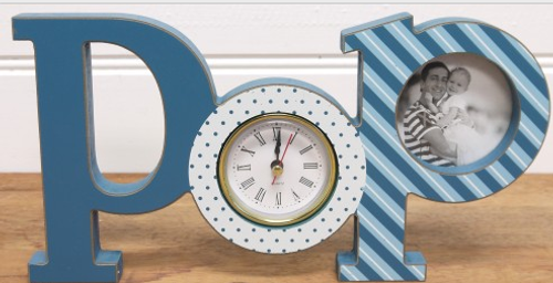 Pop Clock Blue