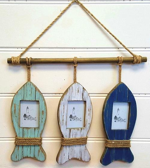 Hanging Fish Photo Frames
