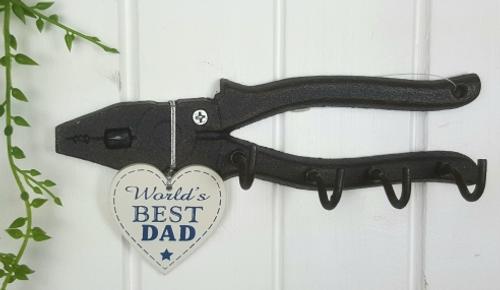 Metal Pliers Key Holder - Dad