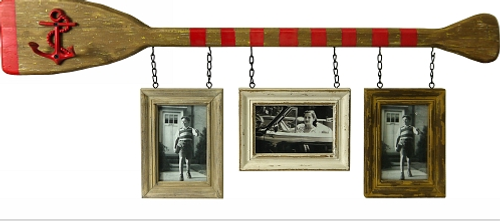 Boat Paddle With Hanging Frames