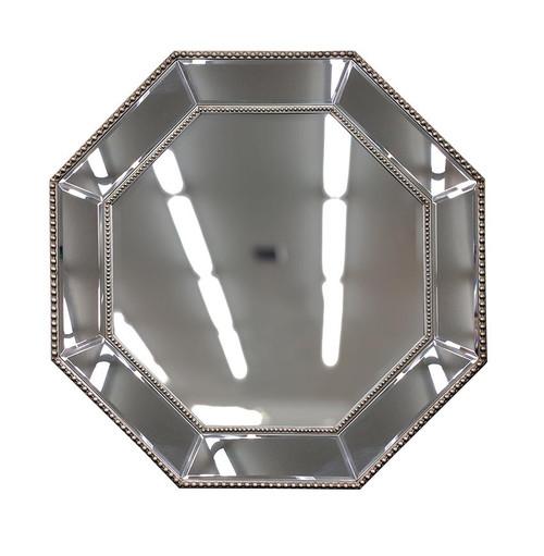 Octagonal Beaded Mirror