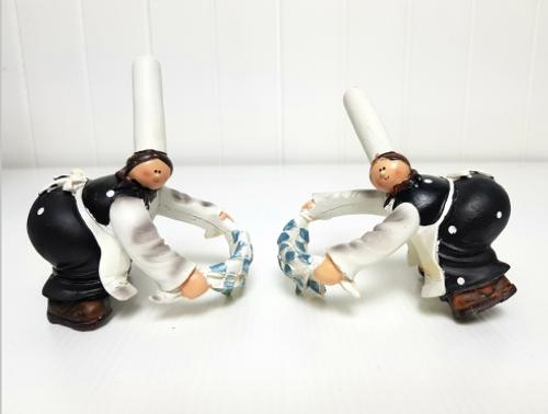 Chef Wine Bottle Rings