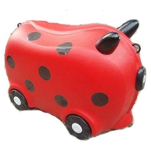 Kids Hard Case Luggage - Ladybug