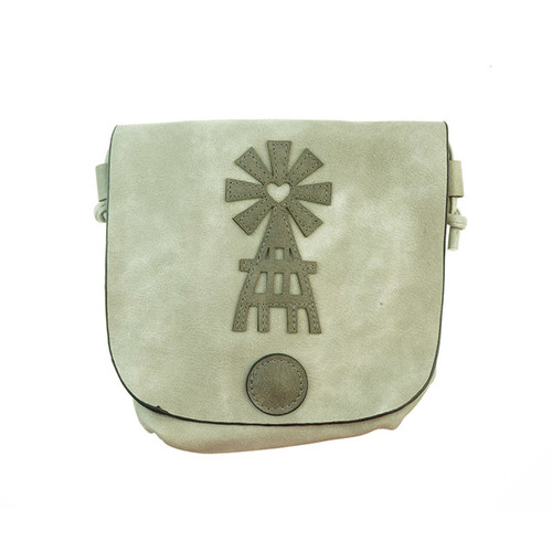 Beige Heart Backpack