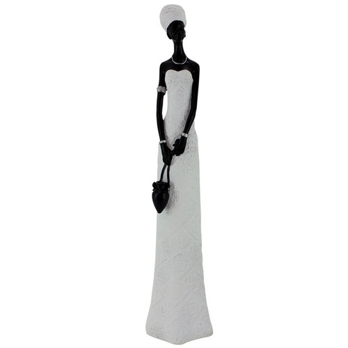 Lady In White Dress Statue