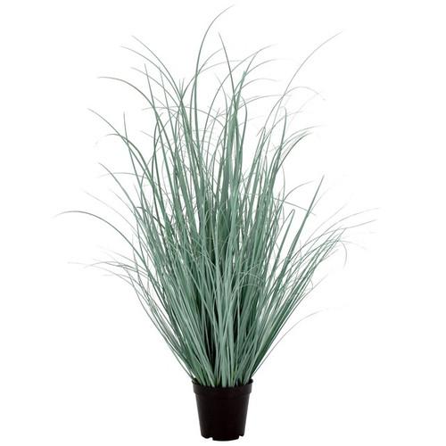 Artificial Grass w/ Black Pot