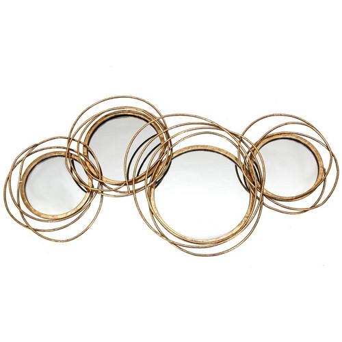 Gold Ringed Mirrors 104cm