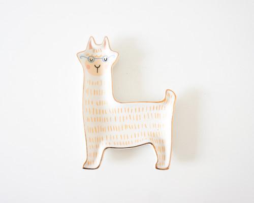 Leroy Llama Trinket Tray