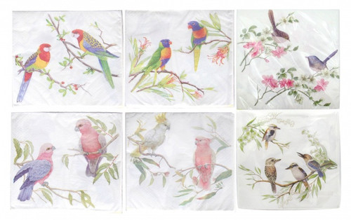 Assorted Bird Napkins